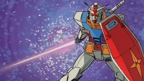 'Mobile Suit Gundam' was a popular TV series from the late 1970s.