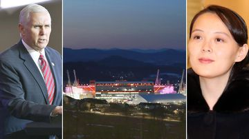 Political intrigue as Kim Jong-un's sister jets into Pyeongchang