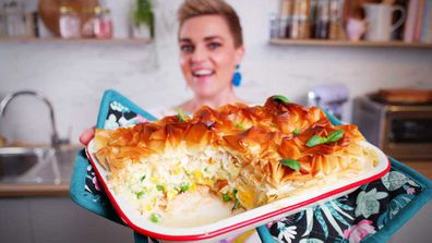 Jane de Graaff makes a classic creamy fish pie packed with veggies and love