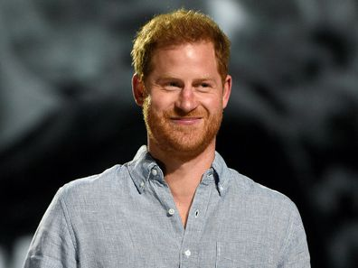 Prince Harry at VAX LIVE event.