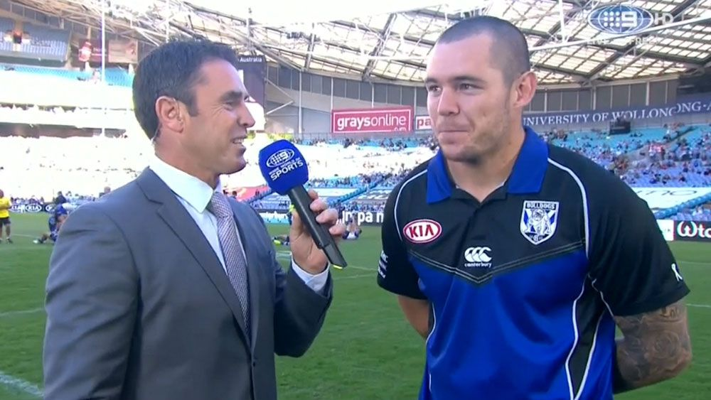 Canterbury prop David Klemmer slapped Manly halfback Daly Cherry-Evans for being cheeky