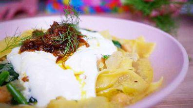 Jane de Graaff's pantry party jammy onion soup