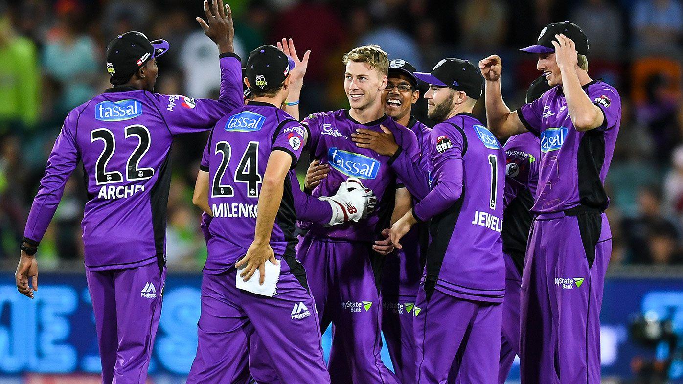 Sydney Thunder eliminated from BBL finals despite win over Hobart Hurricanes