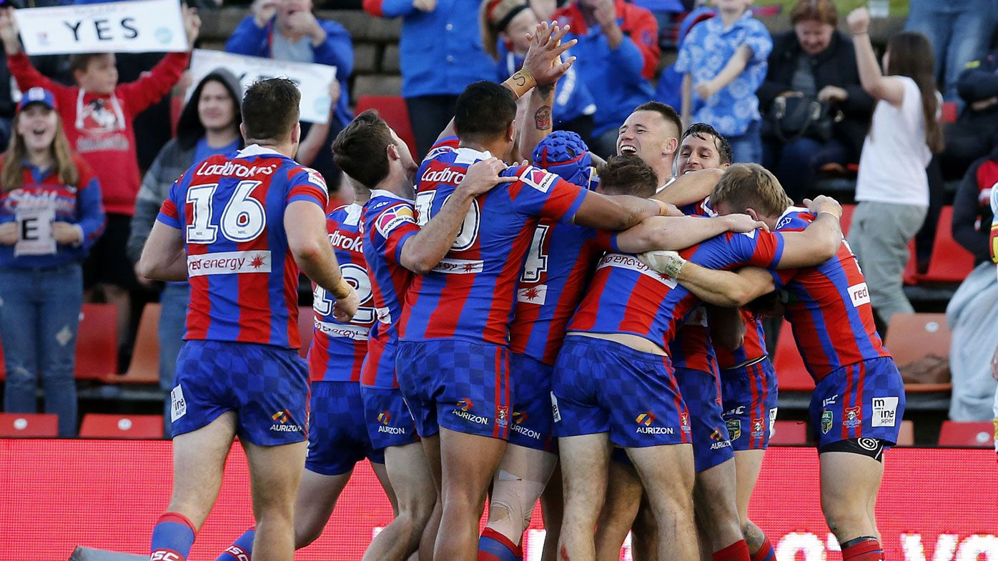 NRL: Newcastle surges late to pip Gold Coast 30-24