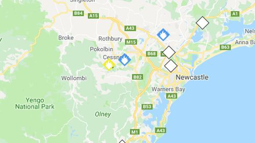 NSW Hunter Valley bush fire warning downgraded to 'watch and act'
