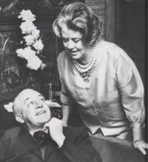Harold Holt and his wife Zara. (9NEWS)