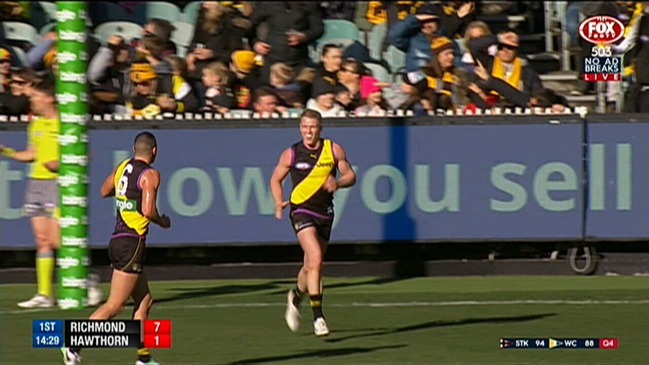 Forward pressure pays off for Tigers