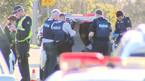 Pair arrested after shot allegedly fired by Melbourne driver
