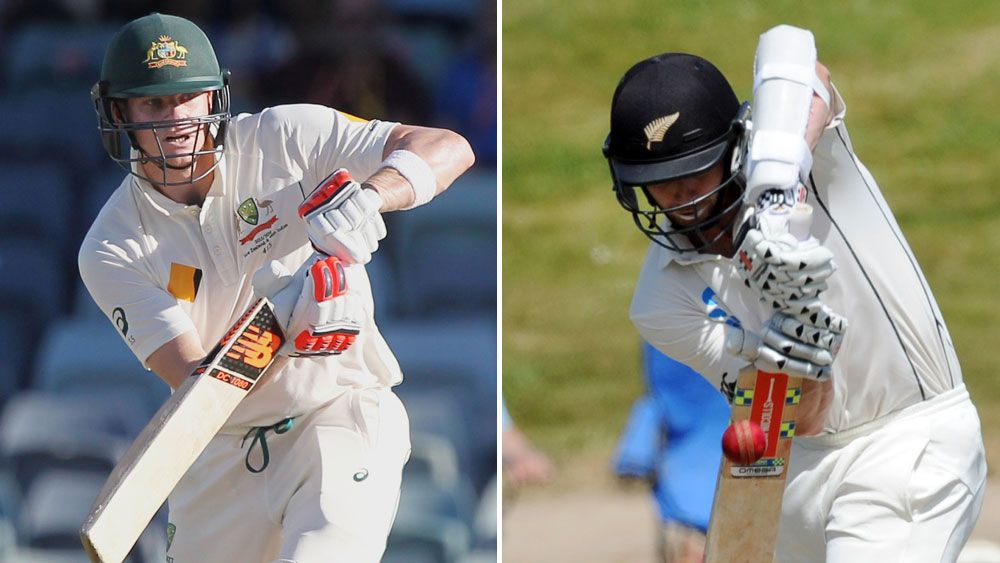 Super bats Smith, Williamson square off