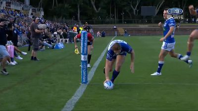 Canterbury Bulldogs hooker Zac Woolford comes up with 'magical' play in NSW Cup Grand Final
