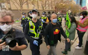 Three arrested at Extinction Rebellion protest