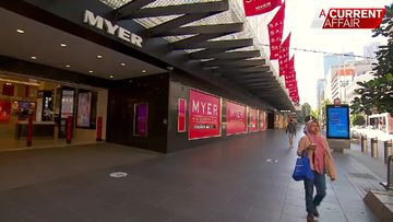 Myer shutdown leaves thousands without jobs