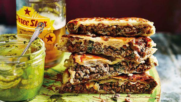 Anjum Anand's Mumbai roadside hot lamb sandwich_recipe