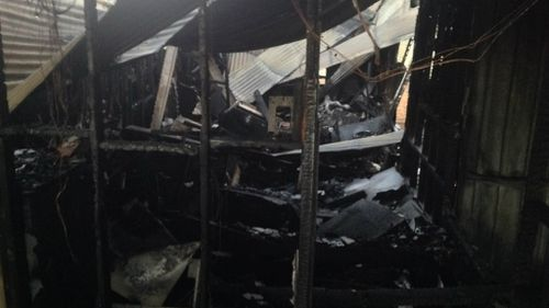 The inside of the building. (Queensland Police)