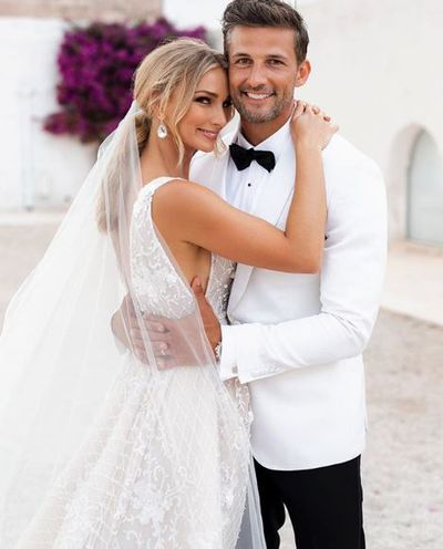 "<p>Five years after finding each other on <em>The Bachelor</em>, Tim Robards and <a href=""https://style.nine.com.au/2017/11/07/15/46/best-dressed-celebrities-at-melbourne-cup-outfit-of-the-day-stars-track-style"" target=""_blank"" title=""Anna Heinrich"" draggable=""false"">Anna Heinrich</a> became the first ever Australian <em>Bachelor</em> stars to <a href=""https://style.nine.com.au/2018/02/27/14/05/anna-heinrich-wedding"" target=""_blank"" title=""tie the knot"" draggable=""false"">tie the knot</a>.</p> <p>The pair exchanged vows last month at the Masseria Potenti Hotel&nbsp;in Puglia, southern Italy, in front of their closest family and friends.</p> <p>While we&rsquo;ve seen glimpses of the lavish affair and their very glamourous Mediterranean honeymoon, we haven&rsquo;t been privy to the details of their big day, until now that is.</p> <p>Heinrich has shared the intimate images from the wedding with her 339k Instagram followers and it&rsquo;s every bit as dreamy as you imagined.</p> <p>The <a href=""https://style.nine.com.au/2018/02/27/14/05/anna-heinrich-wedding"" target=""_blank"" title=""stunning bride"" draggable=""false"">stunning bride</a> walked down the aisle with her proud father, Les Heinrich, wearing a custom-made Steven Khalil gown fit for a princess, and accessorised with Sophie Webster heels and earrings from Oscar De La Renta.&nbsp; </p> <p>The lawyer&rsquo;s bridesmaids, friends Elissa Griffin and Caroline Matson as well as her sisters Andrea and Charlotte Heinrich, wore white Rebecca Valance dresses.</p> <p>Click through to see all the details from the wedding of your reality TV favourites.</p>"
