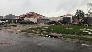 US tornadoes