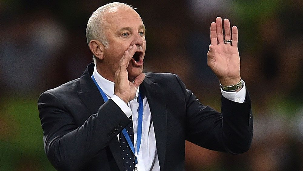 Graham Arnold. (AAP)