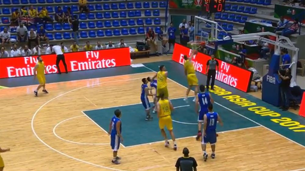 Boomers rout Hong Kong in Asia Cup clash
