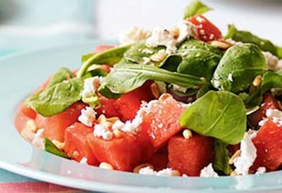 "<a href="" /recipes/inut/8349351/watermelon-rocket-pine-nut-salad"" target=""_top"">Watermelon, rocket & pine nut salad<br> </a>"