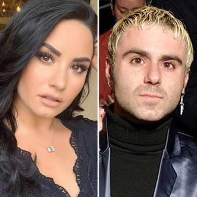 Demi Lovato and Henri Levy
