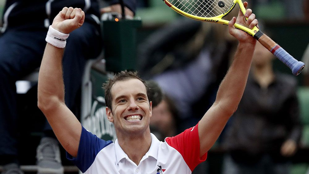 Richard Gasquet. (AAP)