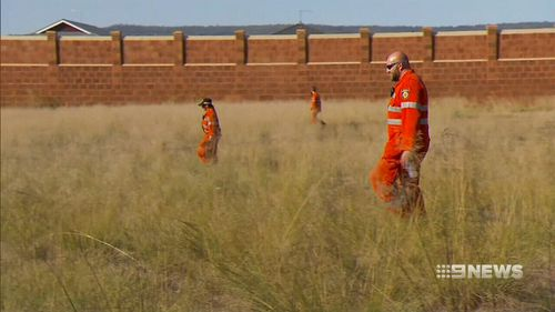 SES crews are participating in the search. (9NEWS)