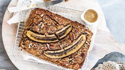 "Recipe:<a href=""http://kitchen.nine.com.au/2016/08/04/11/55/native-chai-spiced-banana-bread"" target=""_top"" draggable=""false"">Sally O'Neil's Chai spiced banana bread</a>"