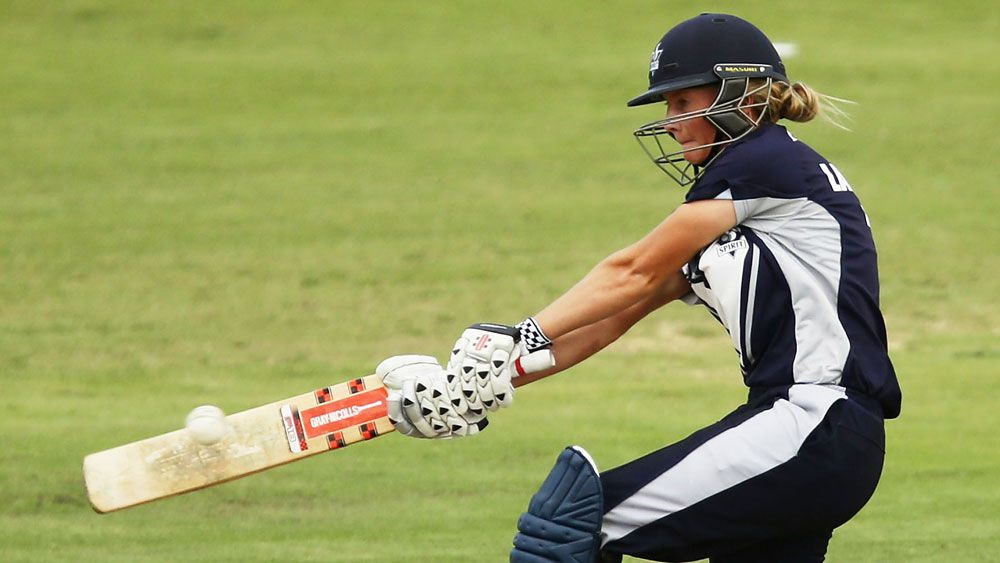 Meg Lanning smashed a record 190 for Victoria. (Getty Images)