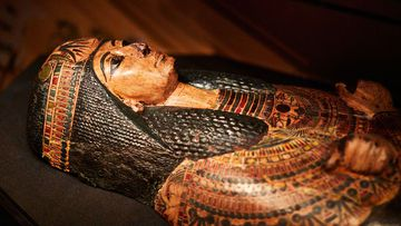 The mummy of Nesyamun is on display at Leeds City Museum.