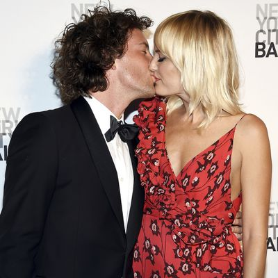 Malin Åkerman and Jack Donnelly