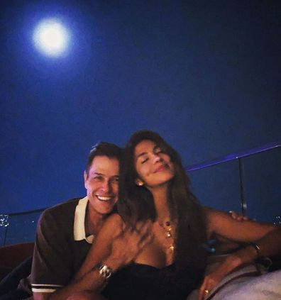 Pia Miller, Patrick Whitesell, engagement ring, photo, Instagram