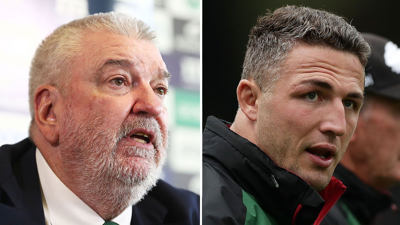 Report: Relationship breakdown with Sam Burgess behind chief's South Sydney resignation