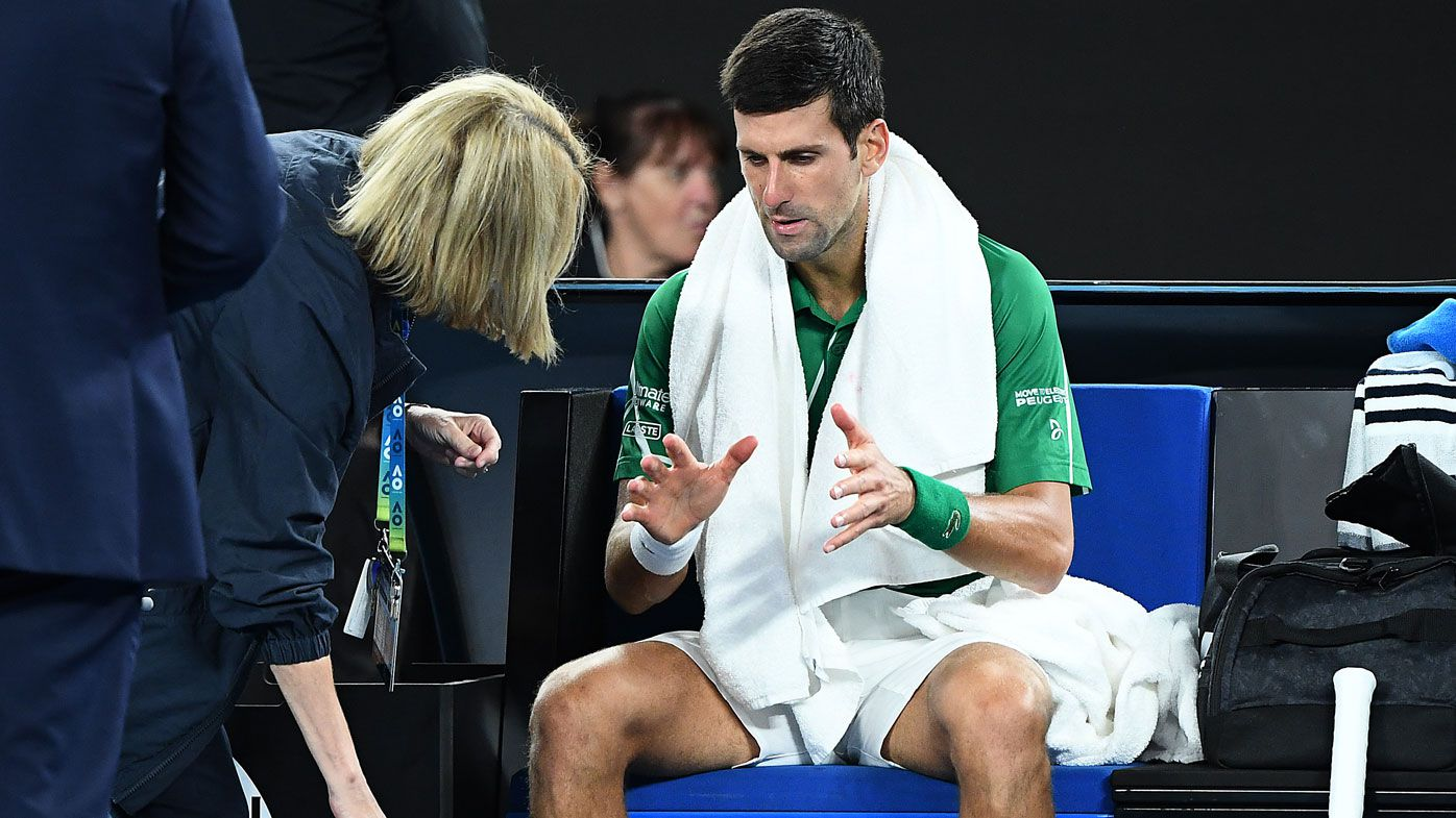 My energy completely collapsed, Novak Djokovic says after AO final medical timeouts