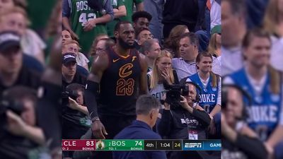 LeBron James carries under-powered Cleveland Cavaliers to NBA finals with game seven win over Boston Celtics