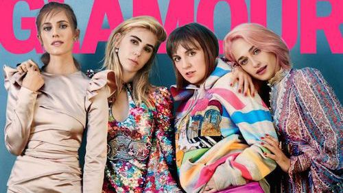 Lena Dunham's cellulite stars on magazine cover
