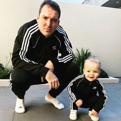 Peter Stefanovic and son Oscar