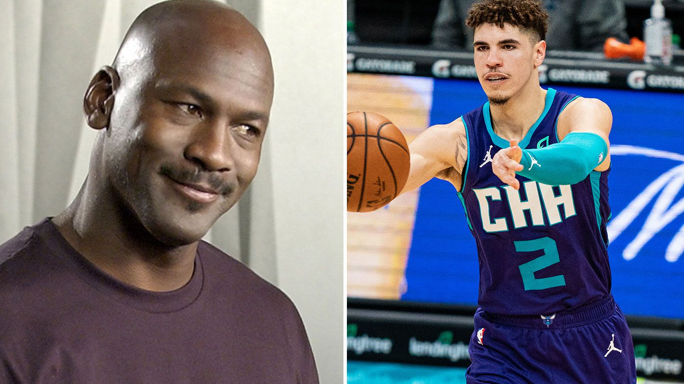 LaMelo Ball has 'exceeded our expectations': Michael Jordan