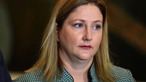 Central Alliance MP Rebekha Sharkie is now in the government's crosshairs. (AAP)