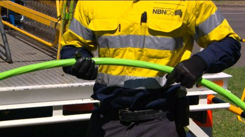 Speeds have plunged during peak times for the NBN, with the company blaming Telstra and Optus for not buying enough bandwidth (9NEWS)
