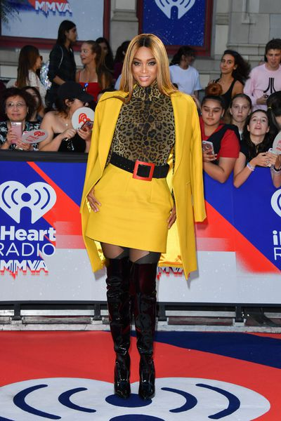 Tyra Banks at the 2018 iHeartRADIO MuchMusic Video Awards in Toronto, Canada