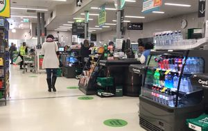 Health officials 'confident' infected Woolworths worker didn't pose a risk to community when leaving quarantine