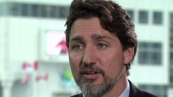 Justin Trudeau speaks on royals