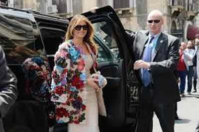 While US president Donald Trump&rsquo;s tenure in the white house has been marred by an alleged election tampering, porn star dalliances and late-night tweets, it&rsquo;s fallen to his wife, Melania, to uphold the image of the first family through her most powerful asset &ndash; fashion.<br /> <br /> First as a glamour model, then as the third wife of a billionaire, and now as an enigmatic First Lady, the 47-year-old has let her clothes do the talking for most of her life in the spotlight.<br /> <br /> Through her sartorial selections we have discovered Trump&rsquo;s love of pastel hues, knee-high boots, skinny jeans, pussy bow shirts and $70,000 Dolce &amp; Gabbana coats.<br /> <br /> As the Stormy Daniels saga continues to swirl around the white house, Mrs Trump continues to evolve her style from glamour model to polished professional. <br /> <br /> Let&rsquo;s look back at some of Melania Trump&rsquo;s most iconic style moments