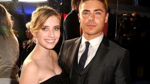 Emma Roberts and Zac Efron spotted 'full-on making out'