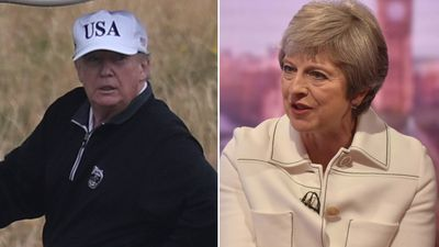 Trump told May to sue the EU over Brexit