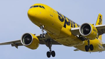 The woman died while on a Spirit Airlines flight in the USA.
