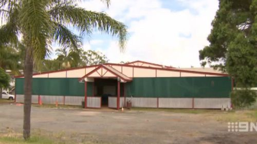 About 200 people were packed into a Brisbane community hall. (9NEWS)