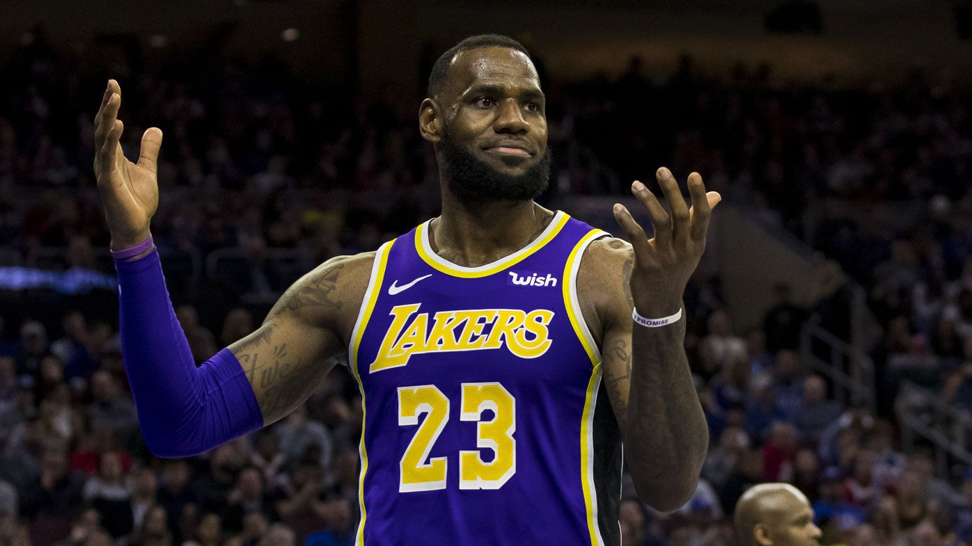 LeBron James leads NBA's highest paid players