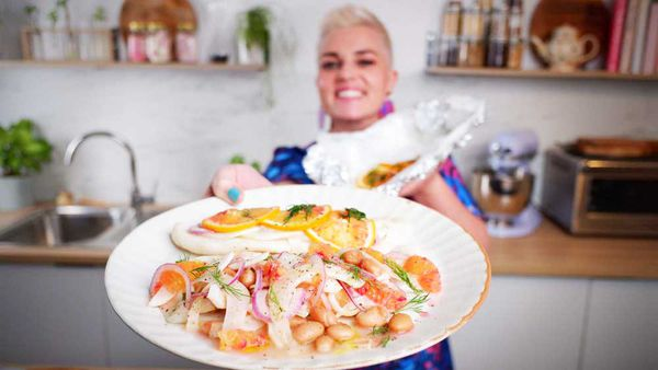 Jane de Graaff loves to steam fish with different citrus and herbs