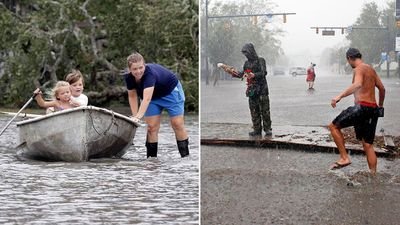 <strong>Streets turned to rivers in wake of Hurricane Florence</strong>